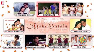 Mohabbatein - Full Song Audio |JUKEBOX| Shah Rukh Khan Aishwarya Rai