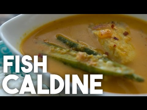 Fish CALDINE Or Caldino