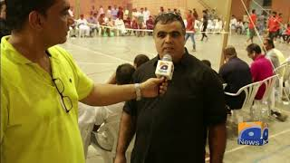 Gujjar Club Wins Independence Day Shooting Volleyball Challenge Cup In Barcelona