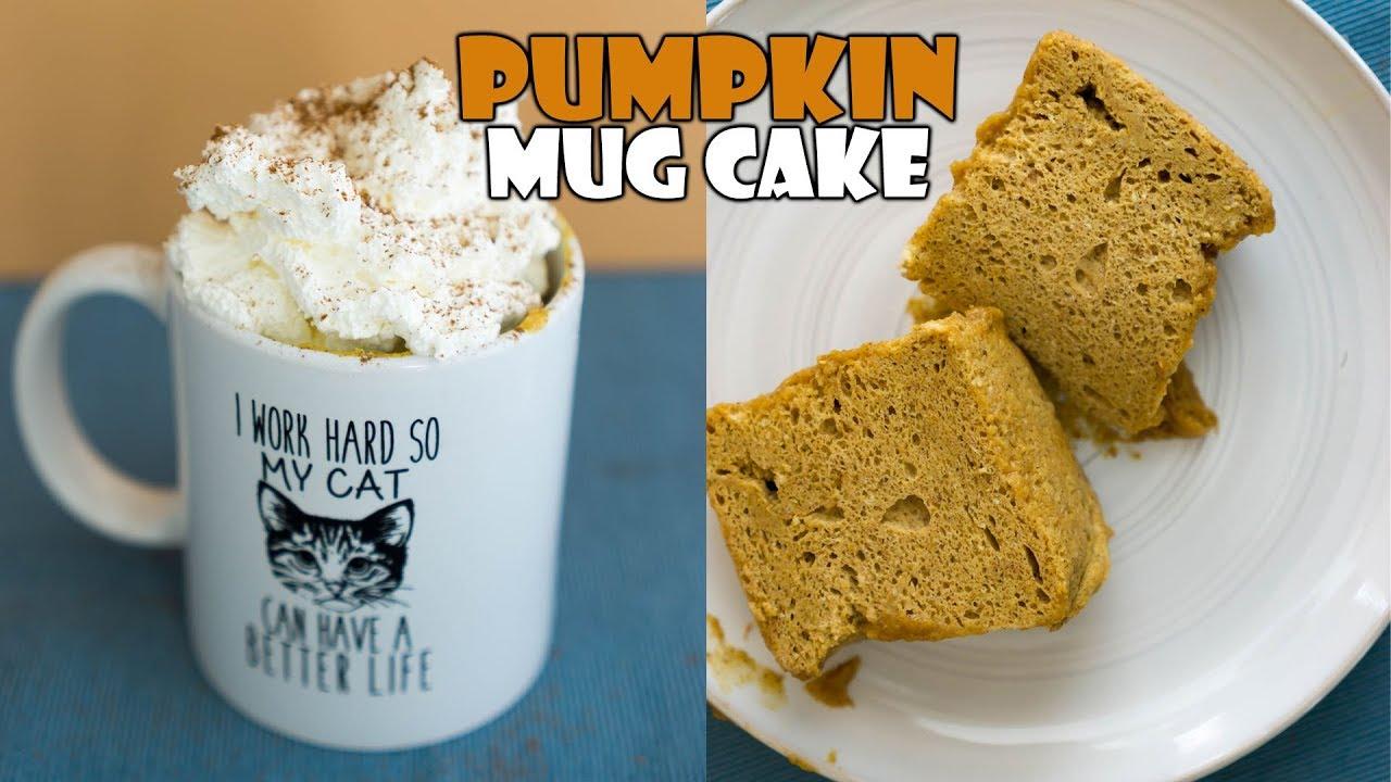 Microwave Pumpkin Cake