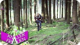 Wandern im Wald & Rutsche