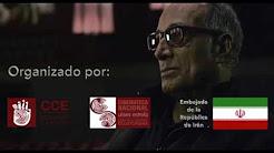 Homenaje al Director de Cine Iraní Abbas Kiarostami