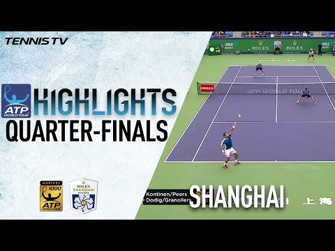 Doubles Highlights: Kontinen, Peers Into Shanghai 2017 SFs