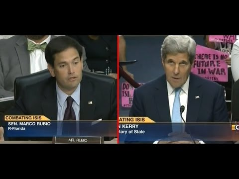Marco Rubio Reduces John Kerry to Two Word Answer Over ISIS