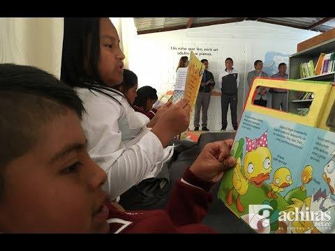 Karaoke y comodidad para incentivar la lectura en La Asunción