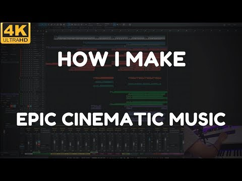 How I Make Epic Cinematic Music. Live Orchestral Composing Tutorial with Olexandr Ignatov