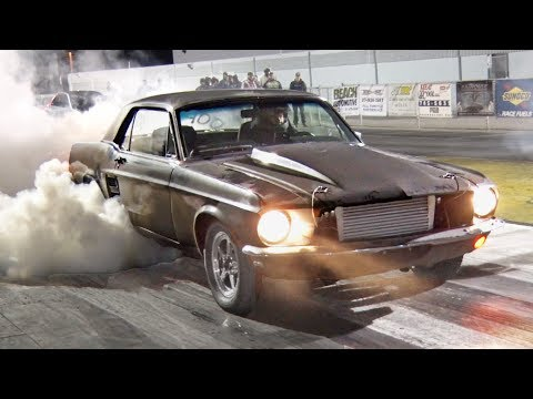 A Turbo CHEVY Motor in a 1967 Mustang!?