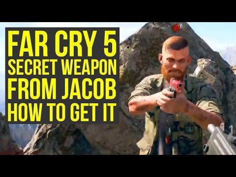 Far Cry 5 Secret Weapons - Jacobs Pistol HOW TO GET IT (Far Cry 5 Secret - Far Cry 5 Hidden Weapons