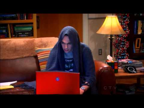 Sheldon Goes Darth!!