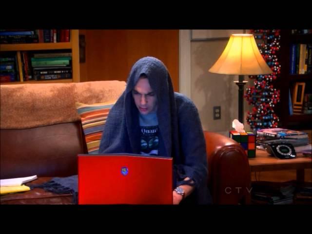 Sheldon Goes Darth!!
