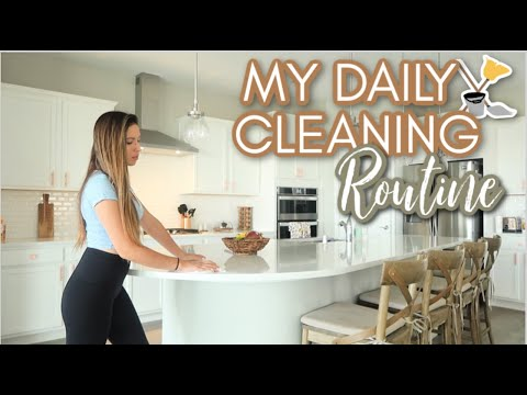 CLEAN WITH ME 2019 | MY DAILY CLEANING ROUTINE!