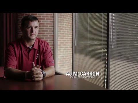 """ESPN - AJ McCarron """"Just Trust"""""""