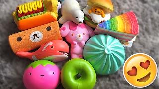 😱SO MANY JUMBO SQUISHIES!! DotDotBang & KetchupGiri Squishy Package!