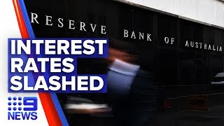 Rba Cuts Interest Rate To Record Low | Nine News Australia