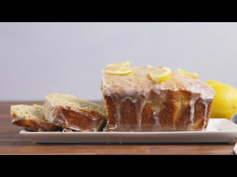 Lemon Poppyseed Bread | Delish