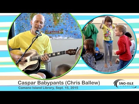 Caspar Babypants at Camano Island Library