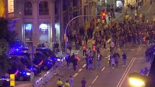 Live Now | Pro-independence protesters gather at Barcelona's airport | Catalan Leaders Jailed