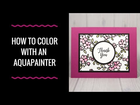 How to Color with an Aqua Painter