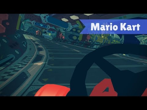 VRChat - 'Mario Kart: Neo Bowser City' World