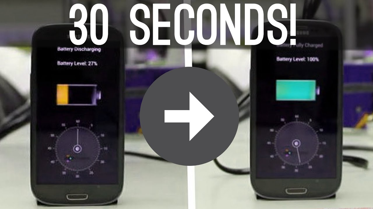 StoreDot: From Zero to Full Battery in 30 Seconds (Prototype Demo Included)