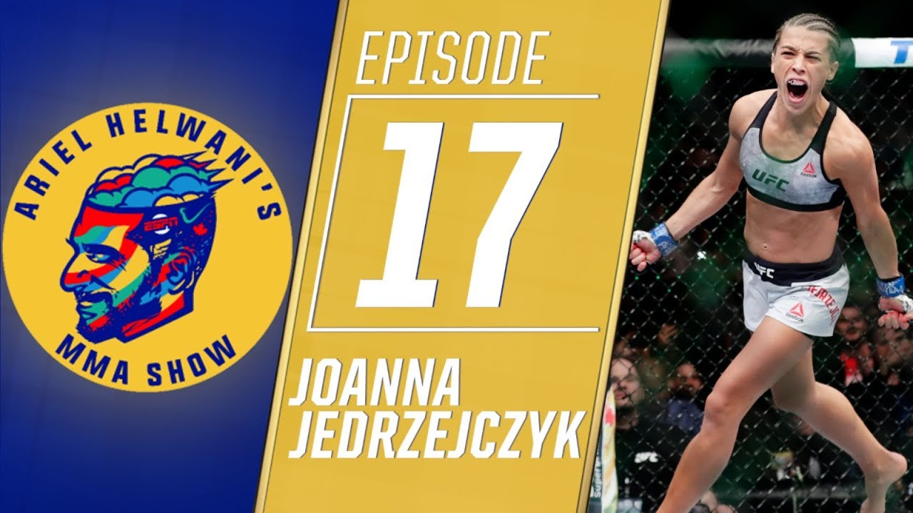 joanna-jedrzejczyk-on-roller-coaster-ride-to-fight-valentina-shevchenko-ariel-helwani-s-mma-show