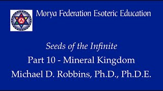 Seeds of the Infinite 10: Extending Identification to the Mineral Kingdom