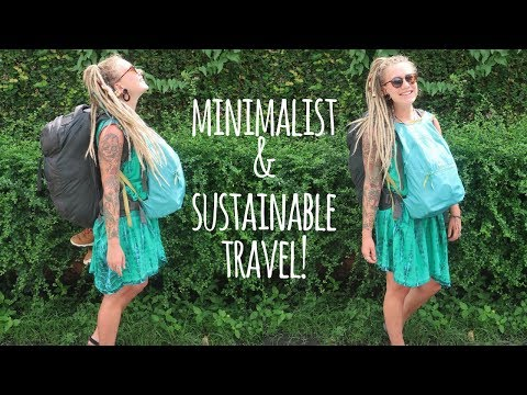 THE REALITY OF MINIMALIST & ECO-FRIENDLY TRAVEL! // TIPS & TRICKS