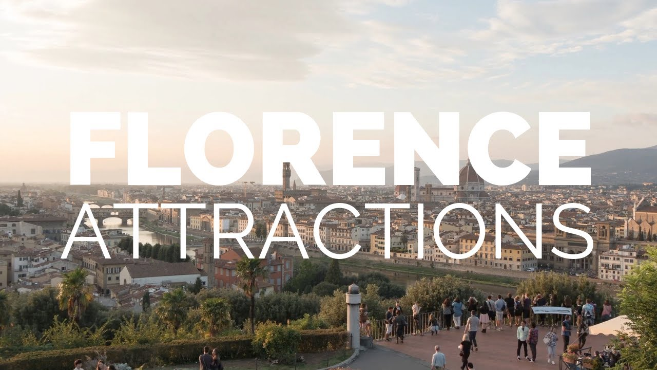 10 Top Tourist Attractions in Florence - Travel Video