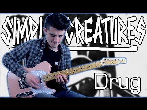 Simple Creatures - Drug (Guitar & Bass Cover w/ Tabs) Mp3