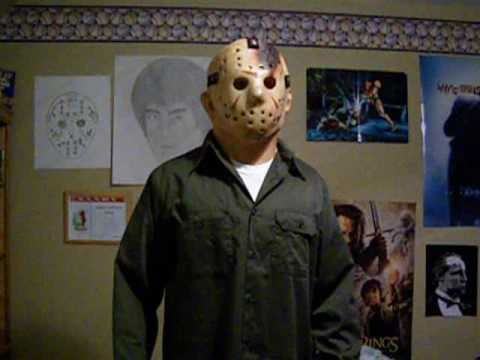Halloween Costume Jason Friday 13th.Jason Costume Part 4 And Myers Costume Halloween Friday The 13th