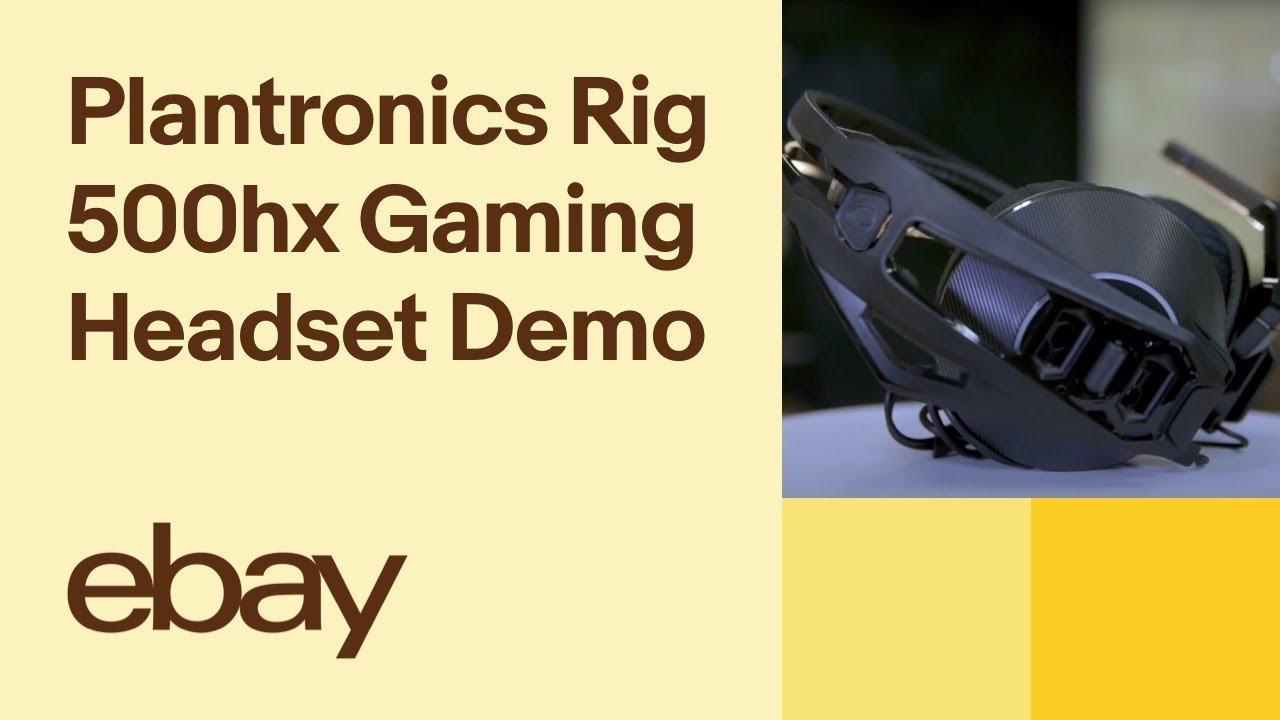 Plantronics Rig 500hx Gaming Headset (xbox One) Demo | eBay Top Products