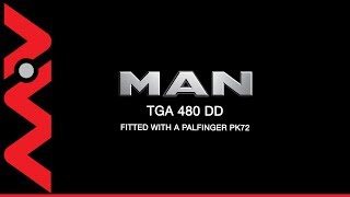MAN TGA 480 6x4 DD Palfinger PK72002 Crane Truck