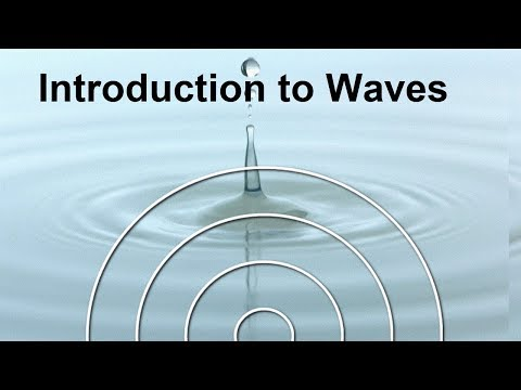 Physics Tutorial:  Introduction to Waves