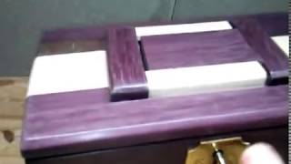 Jewelry Box With Two Secret Compartments