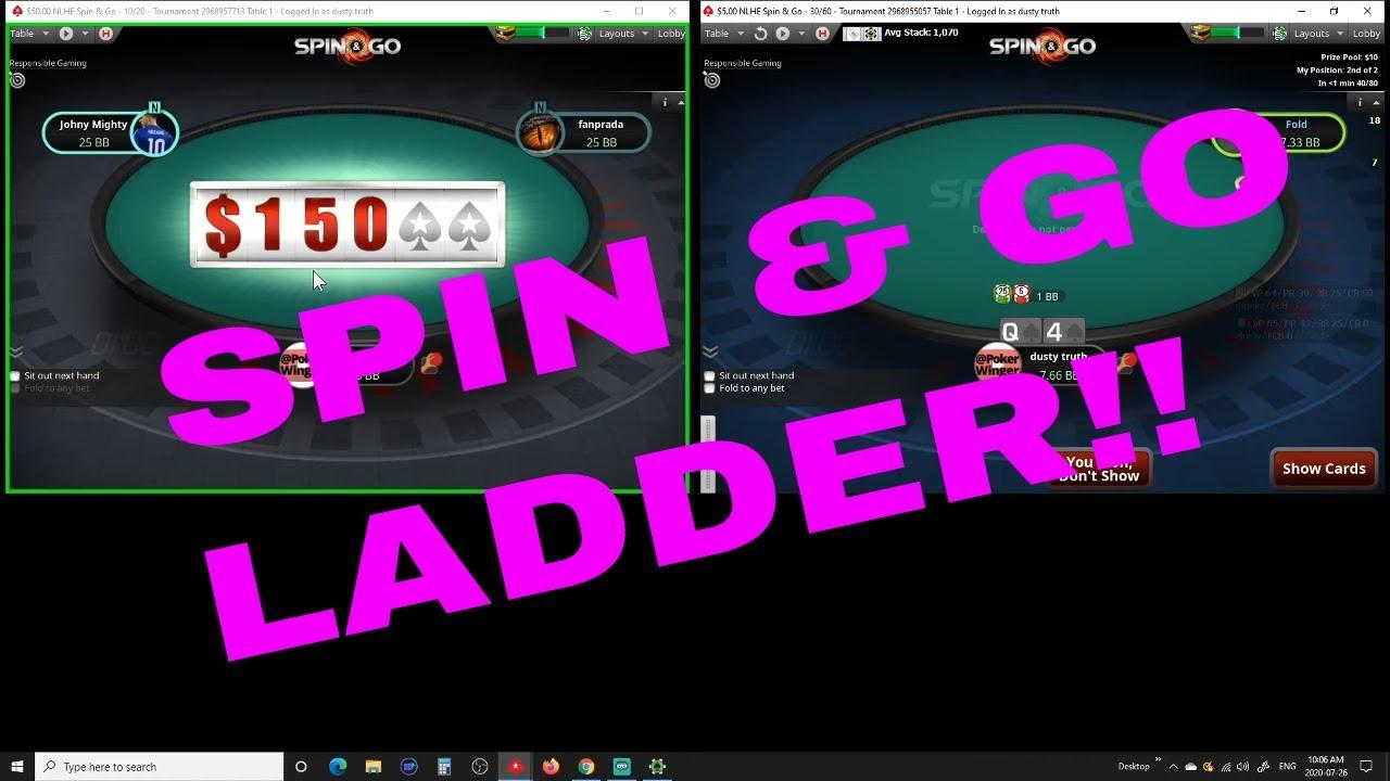SPIN & GO LADDER ON POKERSTARS !!