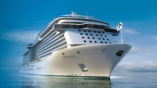 Флагманы Princess Cruises - Лайнеры Regal и Royal Princess(Вы можете самостоятельно забронировать круизы на нашем сайте http://www.breeze.ru/, 2014-02-24T09:55:06.000Z)
