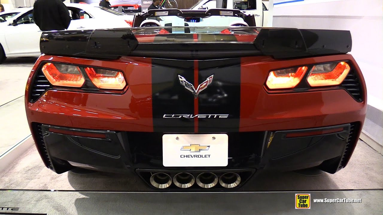 2015 Chevrolet Corvette Z06   Exterior And Interior Walkaround   2015  Ottawa Gatineau Auto Show   YouTube