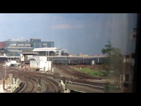 LIRR express ride from Penn Station to Long Beach
