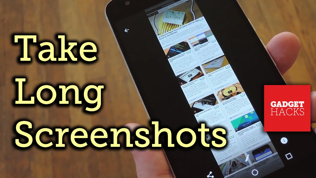 Image result for How to Take Long Scrolling Screenshot on Any Android