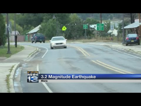 Residents react to 3.2 earthquake in Mora County