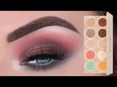 Dominique Cosmetics Latte 2 Eyeshadow Palette | Eye Makeup Tutorial