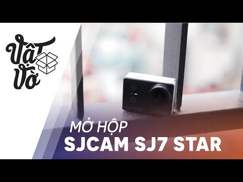 Vật Vờ  Mở hộp & đánh giá nhanh SJCAM SJ7 STAR WiFi 4K