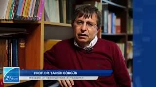 Department Of Philosophy - Prof. Dr. Tahsin Görgün