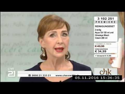 Christine Kaufmann bei Channel21 am 05.11.2016 - Teil 2