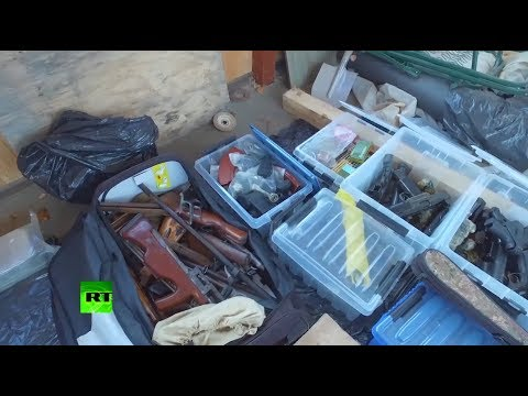 100 единиц огнестрельного оружия и 36 кг взрывчатки: в Подмосковье нашли арсенал бандитов из 90-х