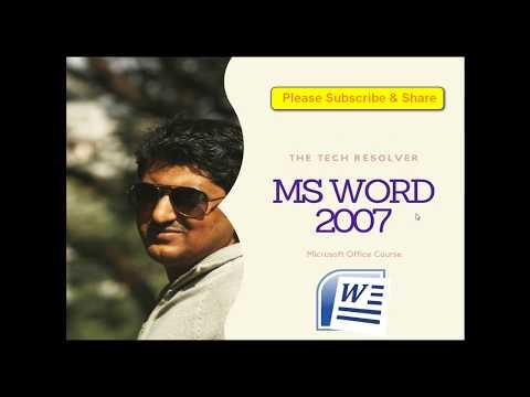 Microsoft Word 2007 Tutorial in Bangla | MS Word in Bangla Part-3 | মাইক্রোসফট ওয়ার্ড টিউটোরিয়াল thumbnail