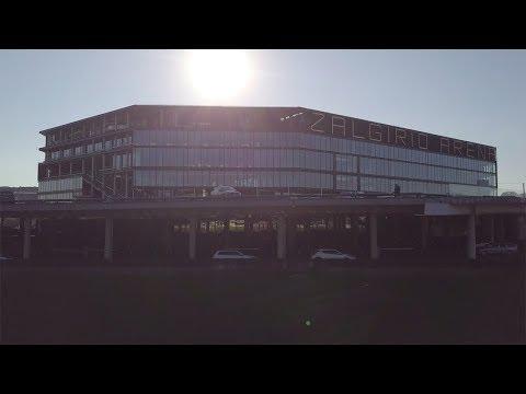 Žalgirio arena in Kaunas, Lithuania (English version)