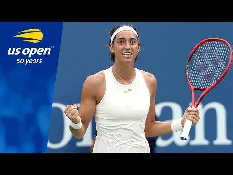 Caroline Garcia Wins A Three Set Thriller At The 2018 US Open
