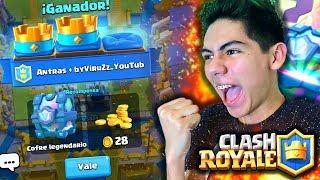 ¡CONSIGO 5 COFRES GRATIS en Clash Royale! - [ANTRAX] ☣ thumbnail
