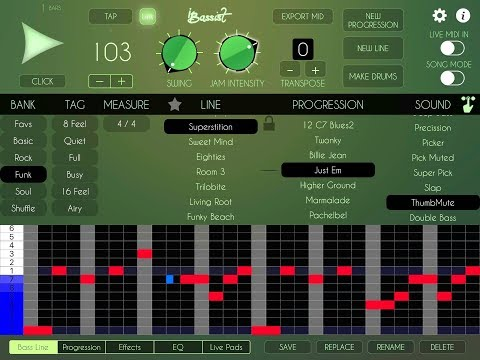 iBassist by Luis Martinez - Instant Bass Lines - Getting Started Tutorial for the iPad